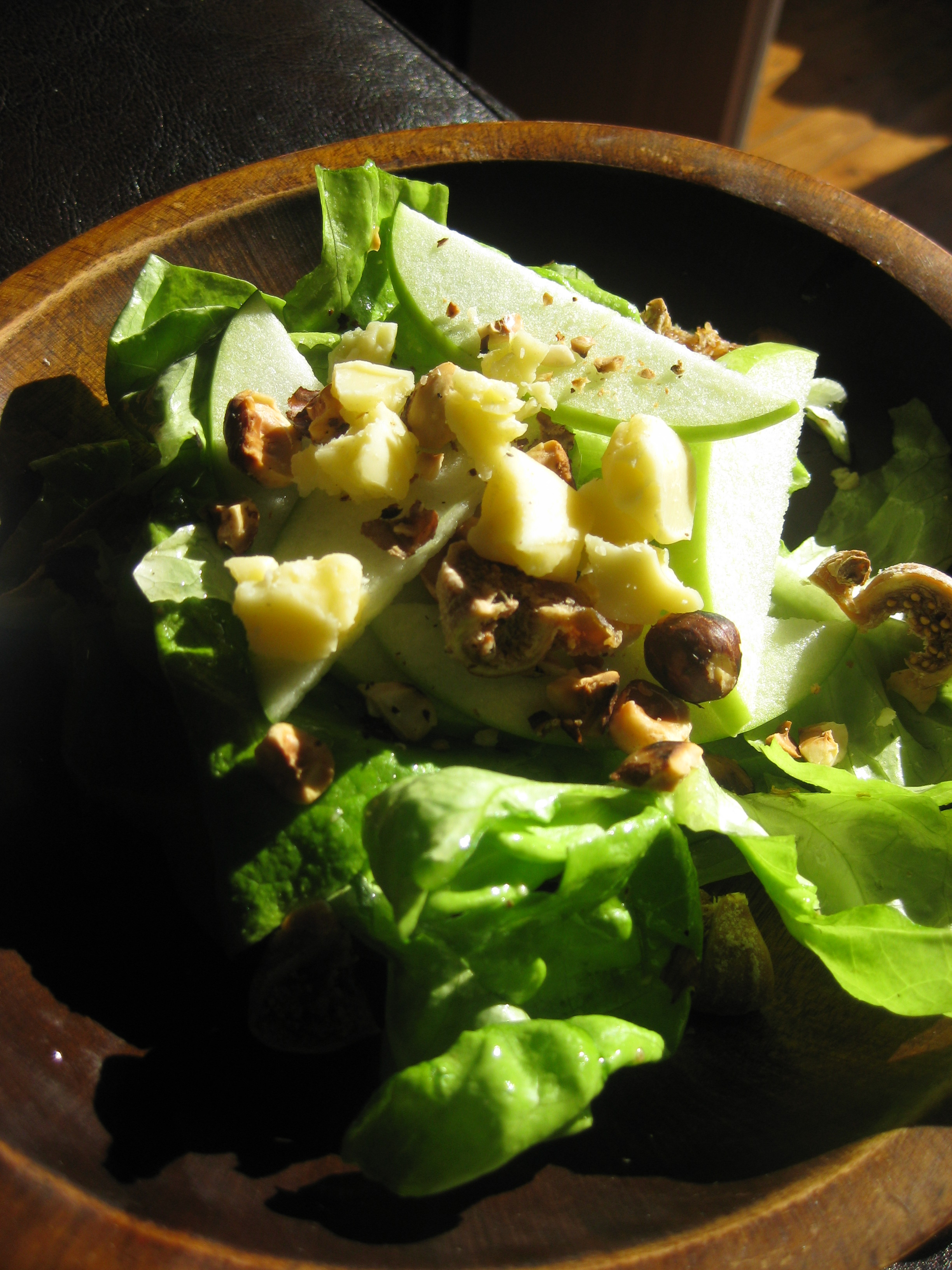 Apple, Hazelnut and Cheddar Salad