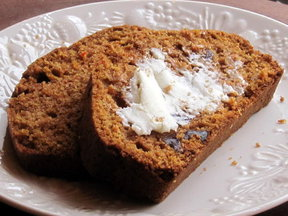 Carrot Date Bread
