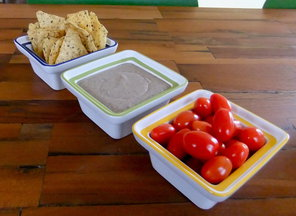 Creamy Black Bean Dip