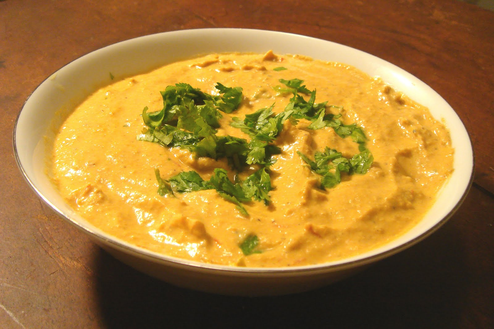 Baingan Bharta (Roasted Eggplant Curry) Dip