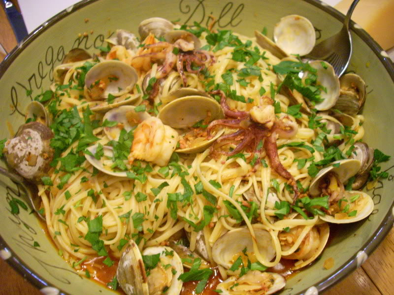 ... manila clam and sausage recipe linguine with manila linguine and clams