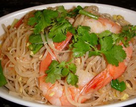 Thai Noodles with Shrimp