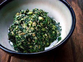 Sunflower &amp; Pumpkin Seed Basil Pesto