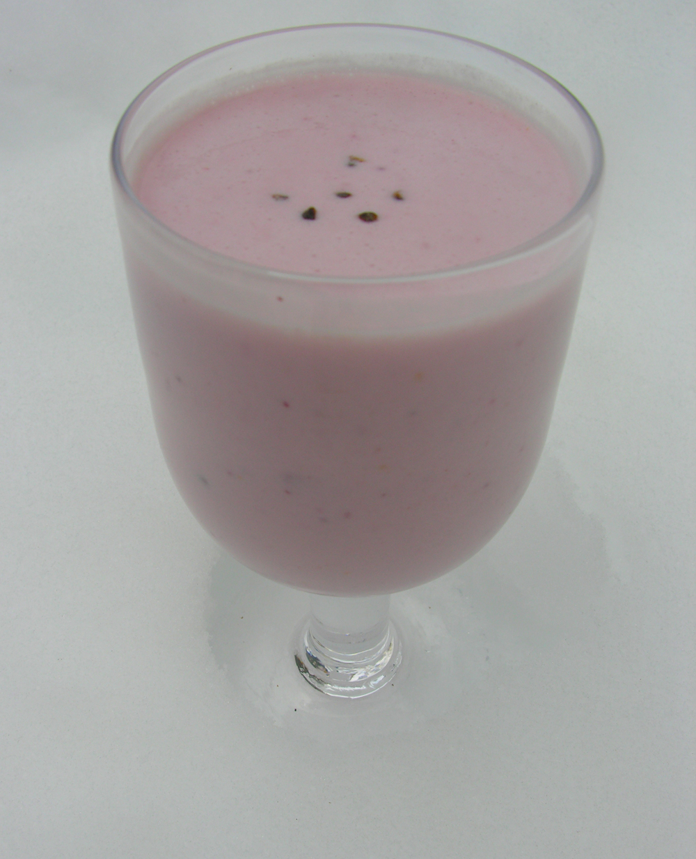 Swedish-inspired Lassi Delight with Cocoa Option
