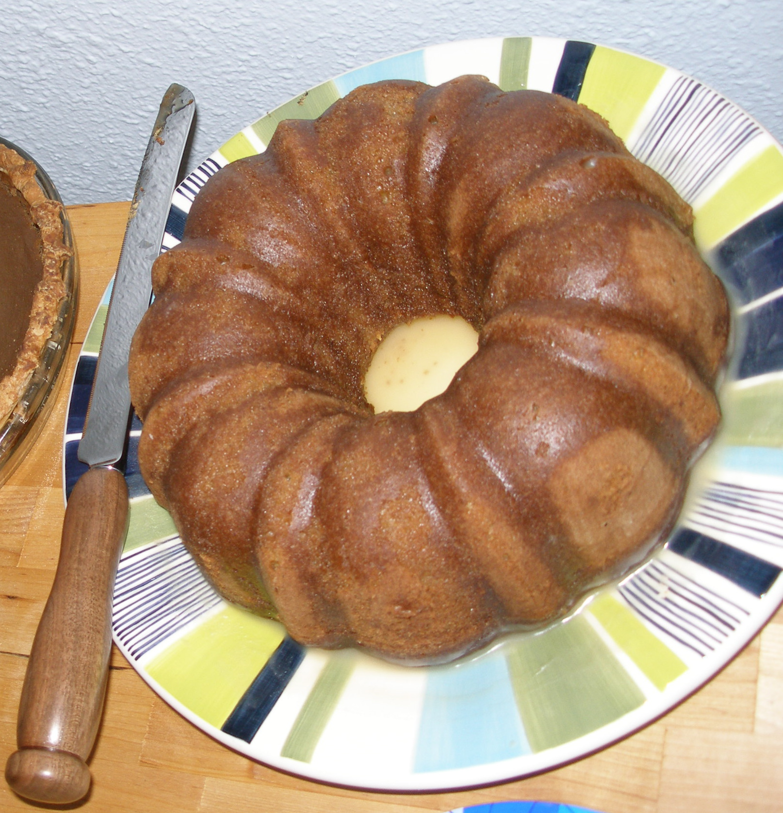 Janet's Cardamom Cake with Brown Sugar Icing