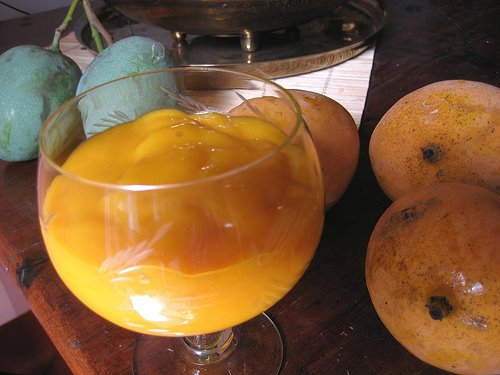 Mango Lassi (with Cardamom)