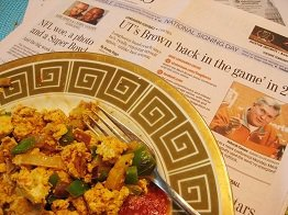 Tofu Breakfast Scramble
