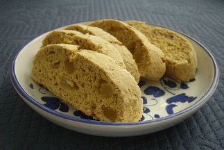 Not Quite Savory, Not Quite Sweet, Cardamom Ginger Biscotti