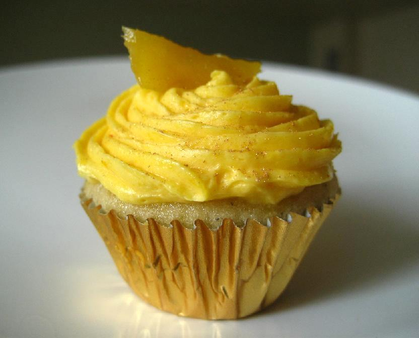 Mango Lassi Cupcakes