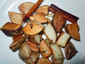 Cardamom Roasted Potatoes