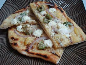 Mediterranean Grilled Flatbread