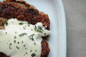 Chicken Fried Steak with Sage Gravy