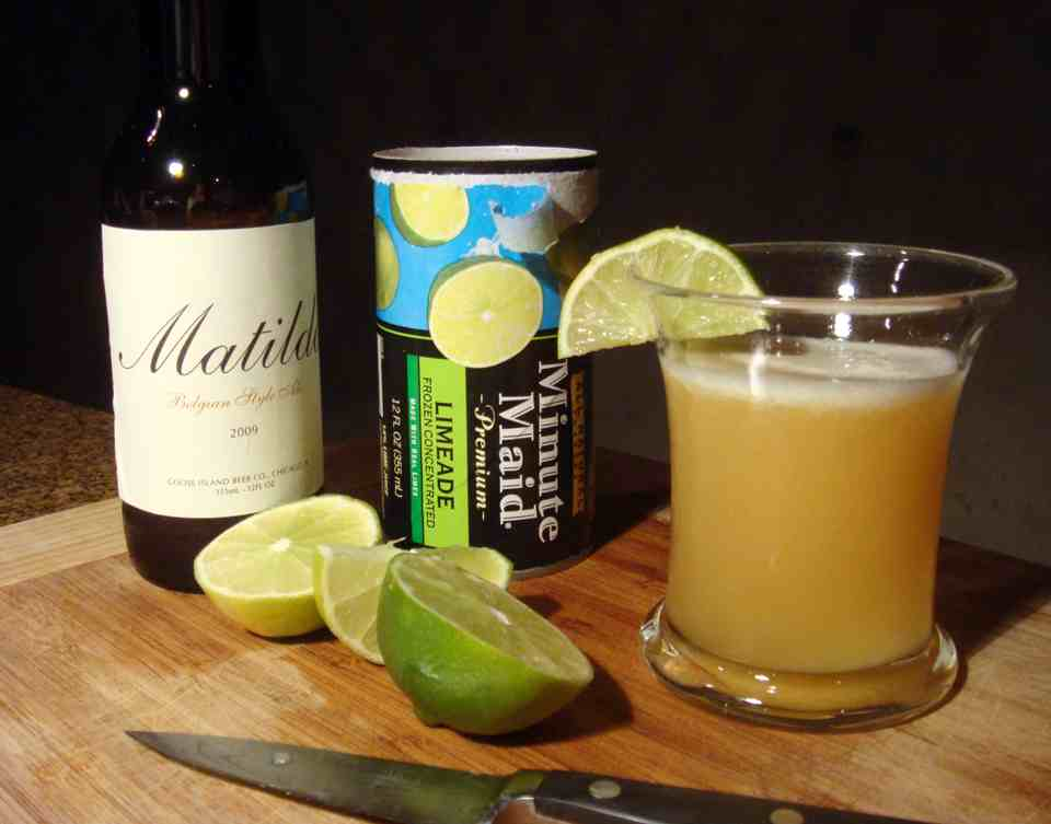 Margarita Made with Beer