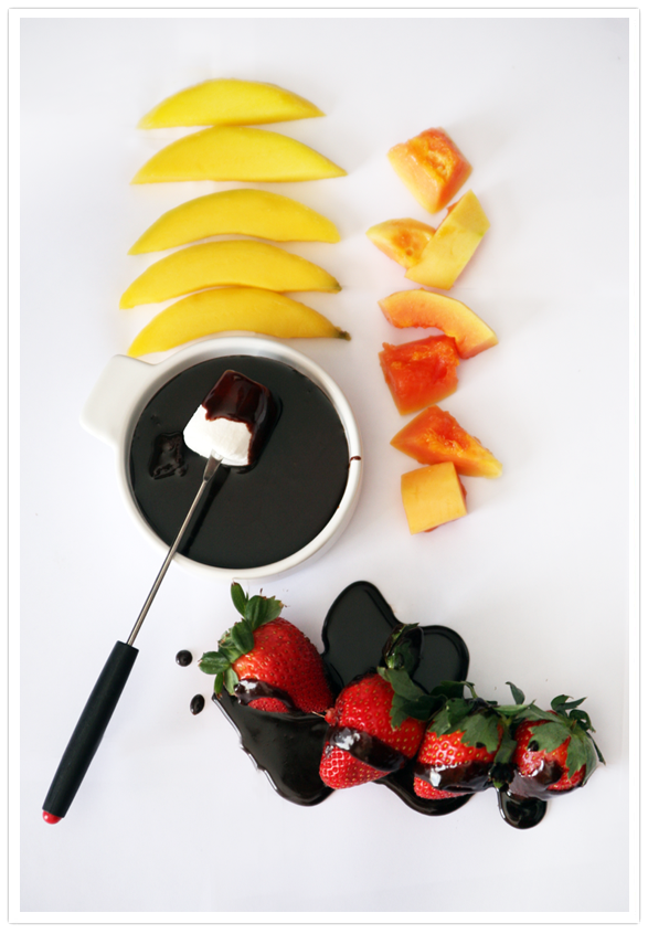 Mexican Chocolate Fondue