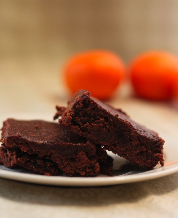Clementine Cutie Brownies