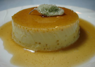 Sage Infused Crme Caramel