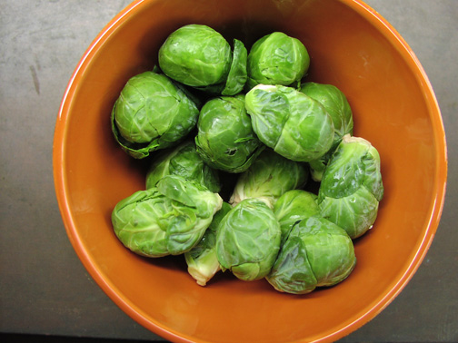 Red-Cooked Brussels Sprouts