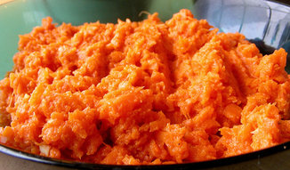 Carrot hummus