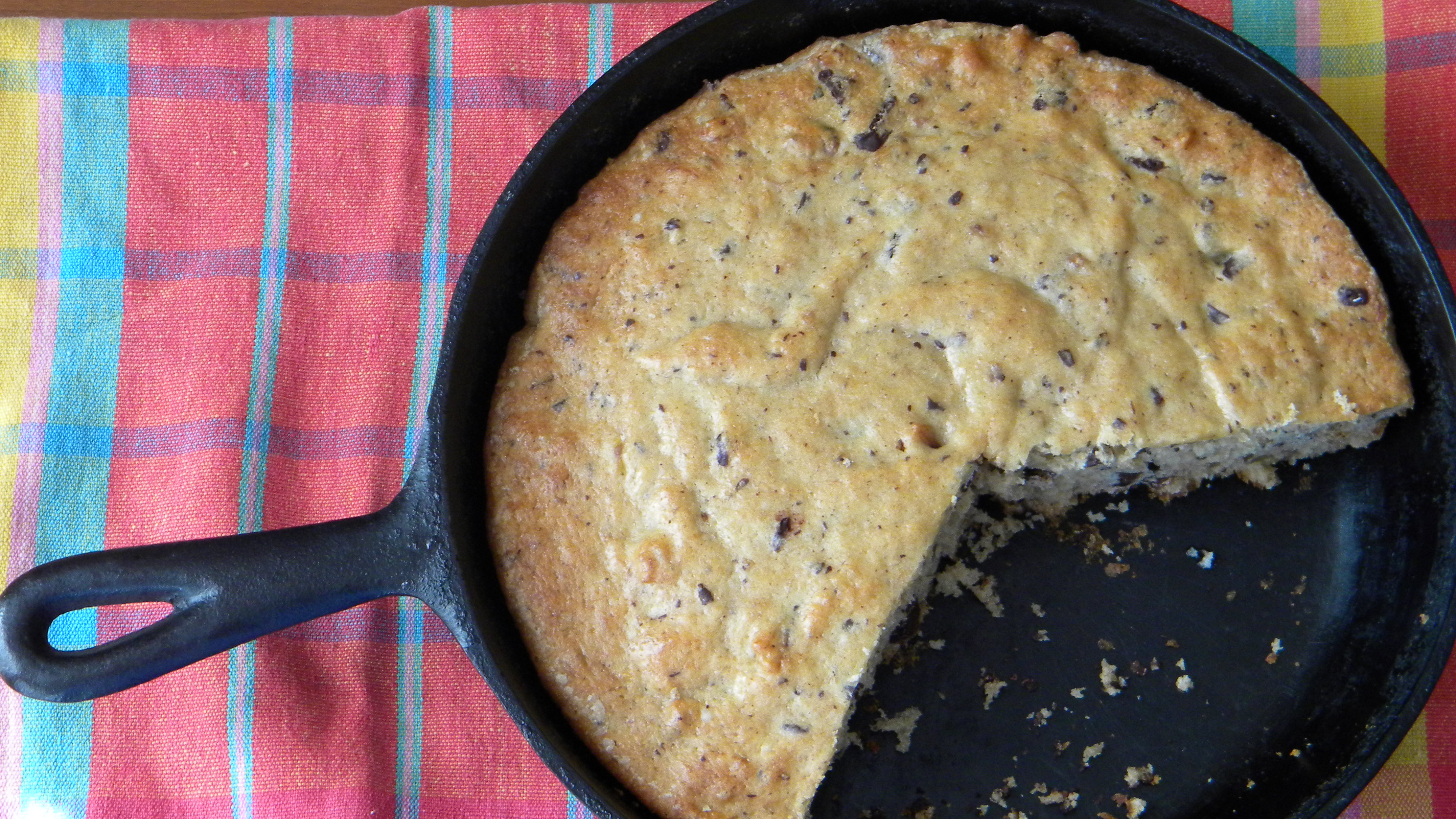 Skillet Banana Cake