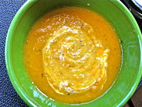 Carrot Ginger Pumpkin Soup