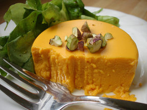 Savory Carrot Panna Cotta