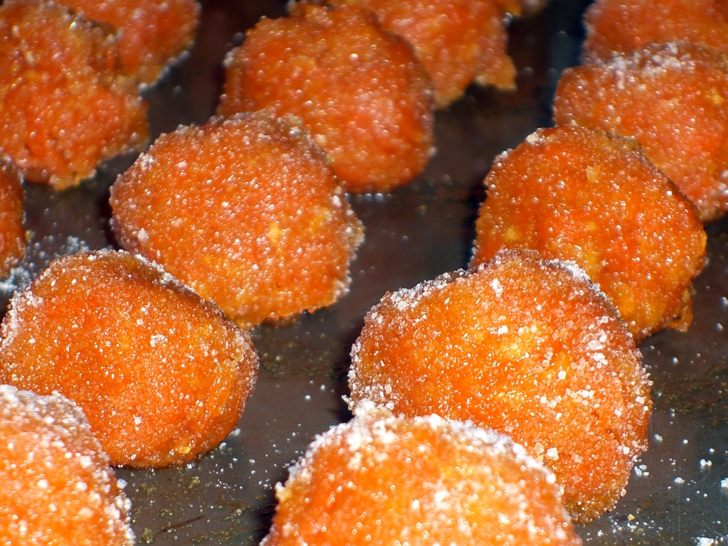 Candied Carrot Balls Recipe on Food52