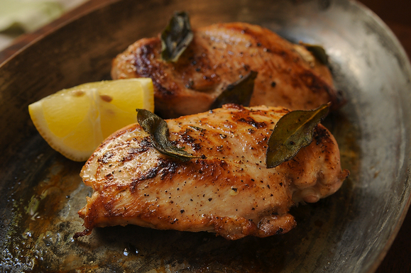 Chicken Breast with Fresh Sage