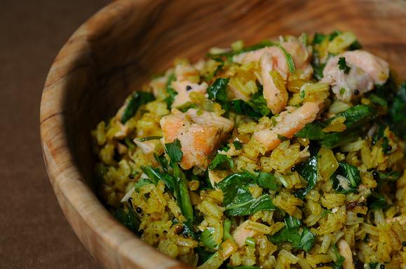 Leftover salmon kedgeree recipe on food52 for Leftover fish recipes
