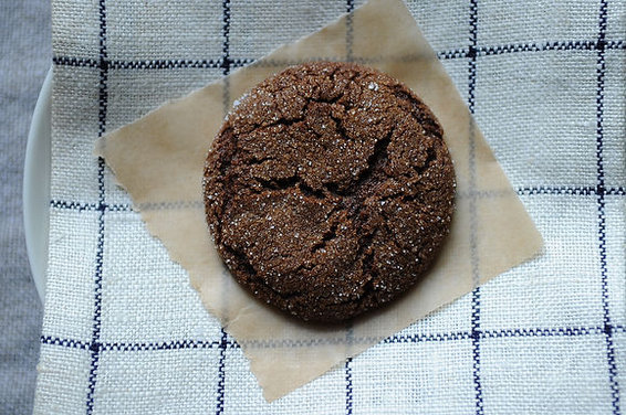 Ginger Spiced Molasses Sugar Cookies