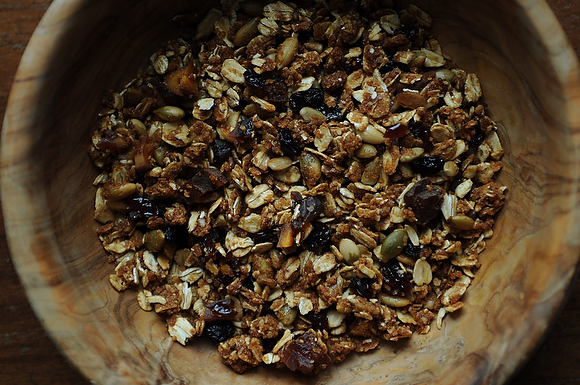 My Favorite Granola with Lots of Dried Fruit