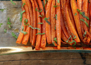 Roasted-carrots