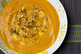 Honeyed Carrot & Orange Soup