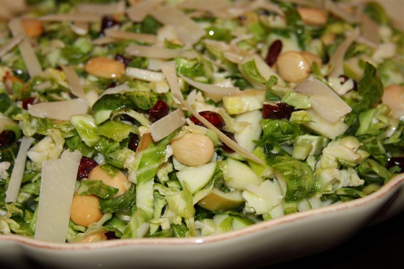 Brussel Sprout Harvest Salad