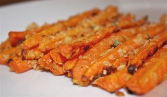Baked Carrot &quot;Fries&quot;