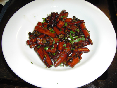 Carrots with Capers and Balsamic Vinegar