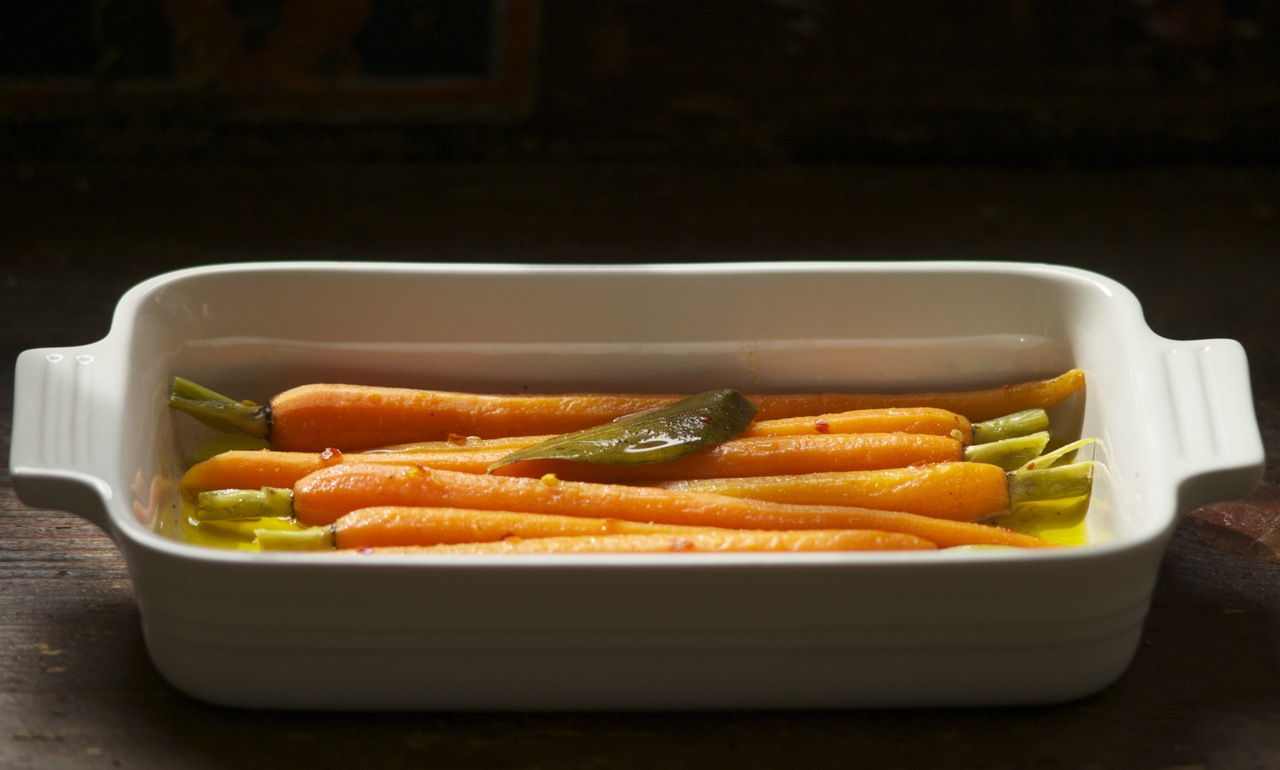 Carrots a la Grecque