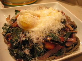 Pasta_chard_and_an_egg