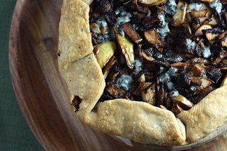 Savory Apple and Blue Cheese Tart