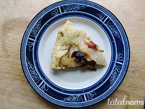 Pear &amp; Bacon Galette