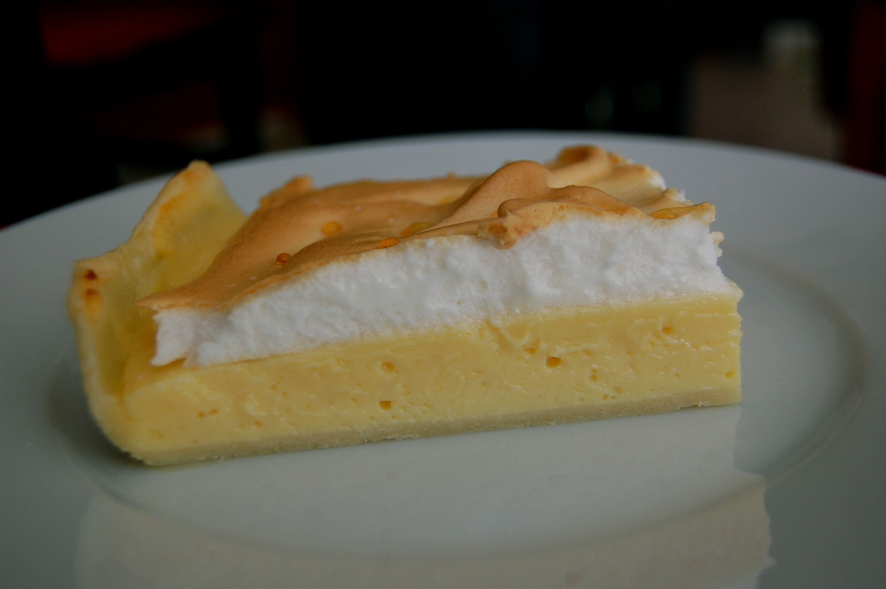 Lemon Meringue Pie (Bolivian style)