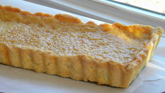Maple Creme Fraiche Tart
