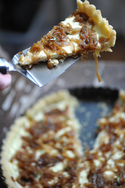 Sexy Ugly Onion Tart