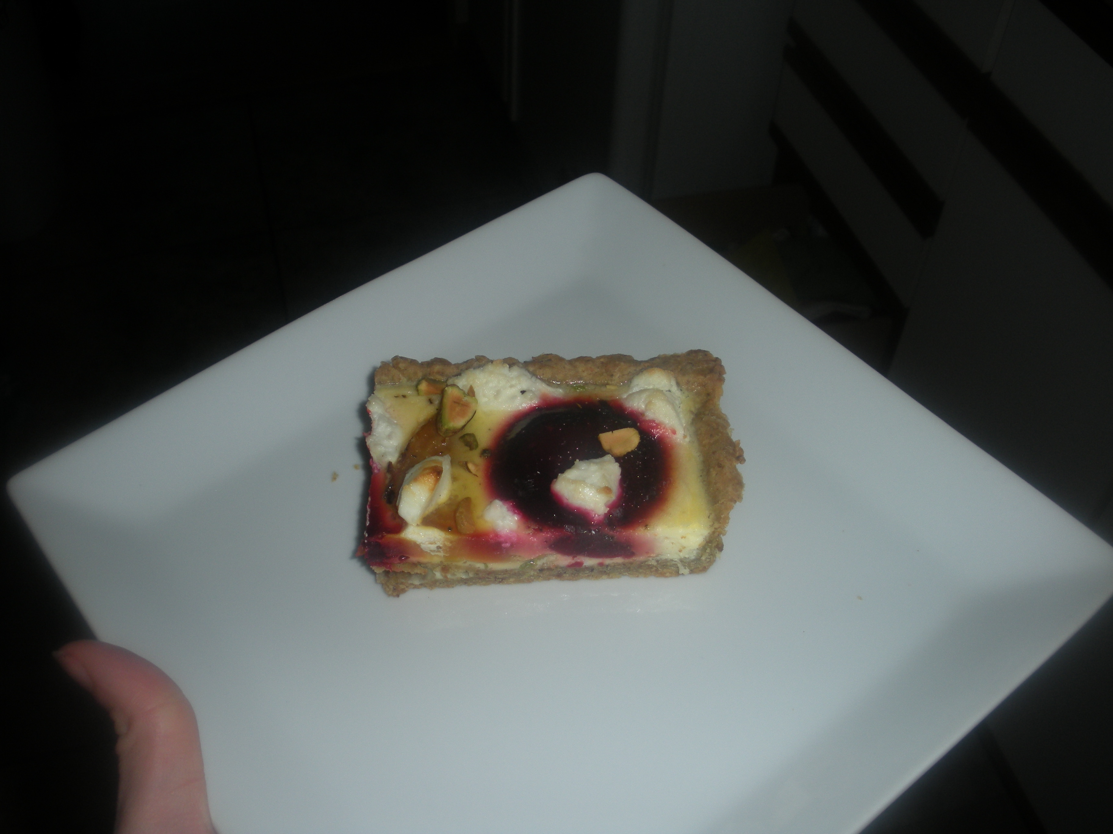 Earthy but Elegant Beet Tart
