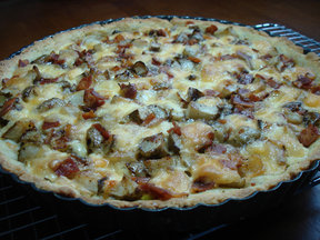 Sunchoke Tart 