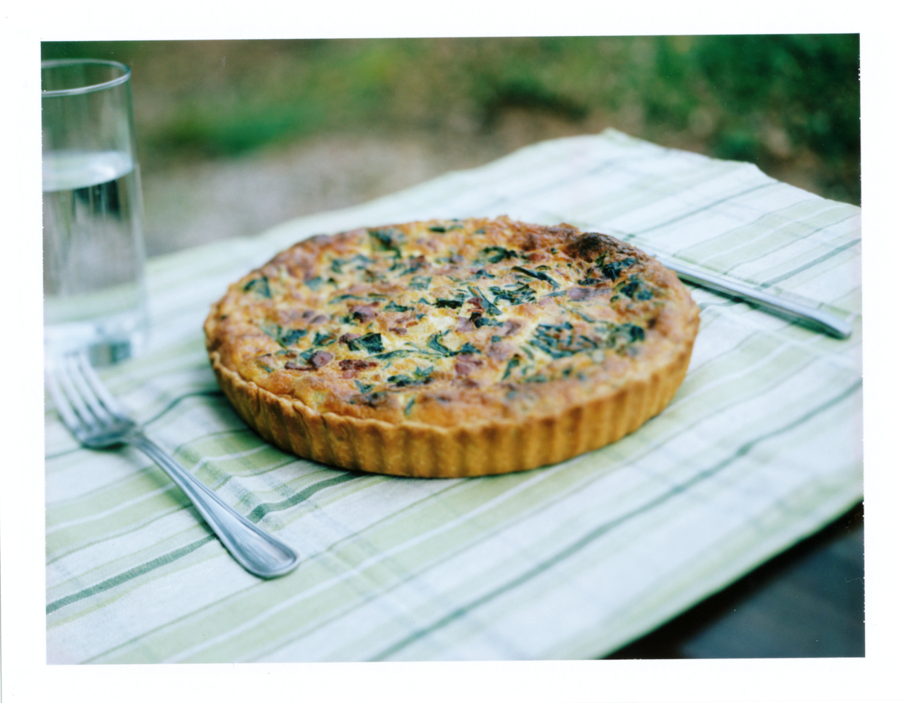 Beloved Greens Quiche