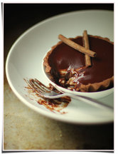 Chocolate and Banana Tart