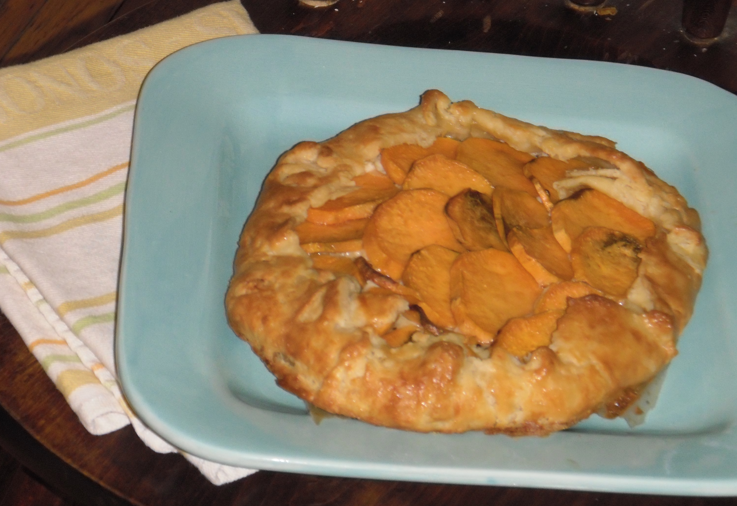 Sweet Potato and Ricotta Galette