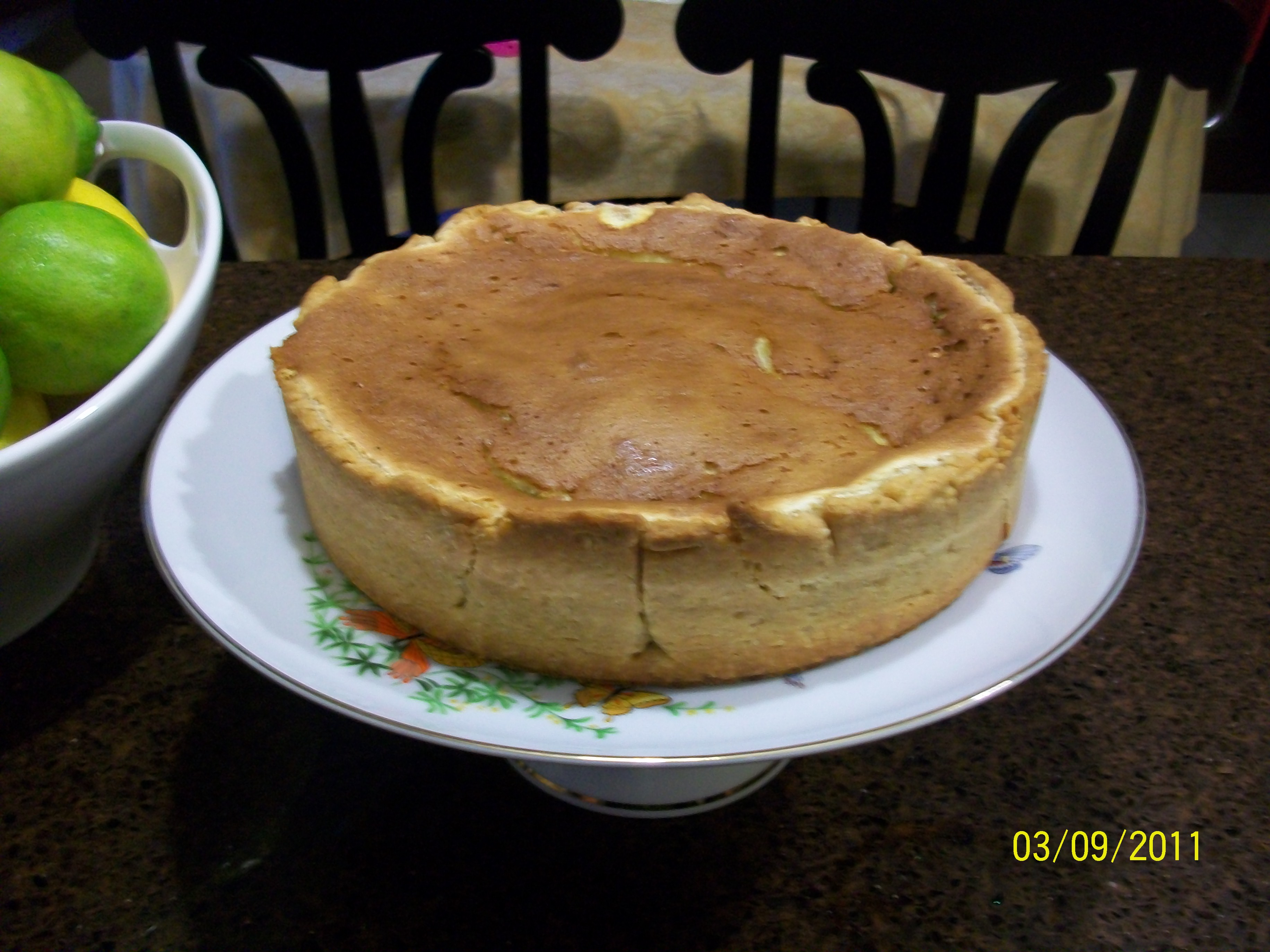 LLBT- Lemon Lime Souffle Blueberry Tart