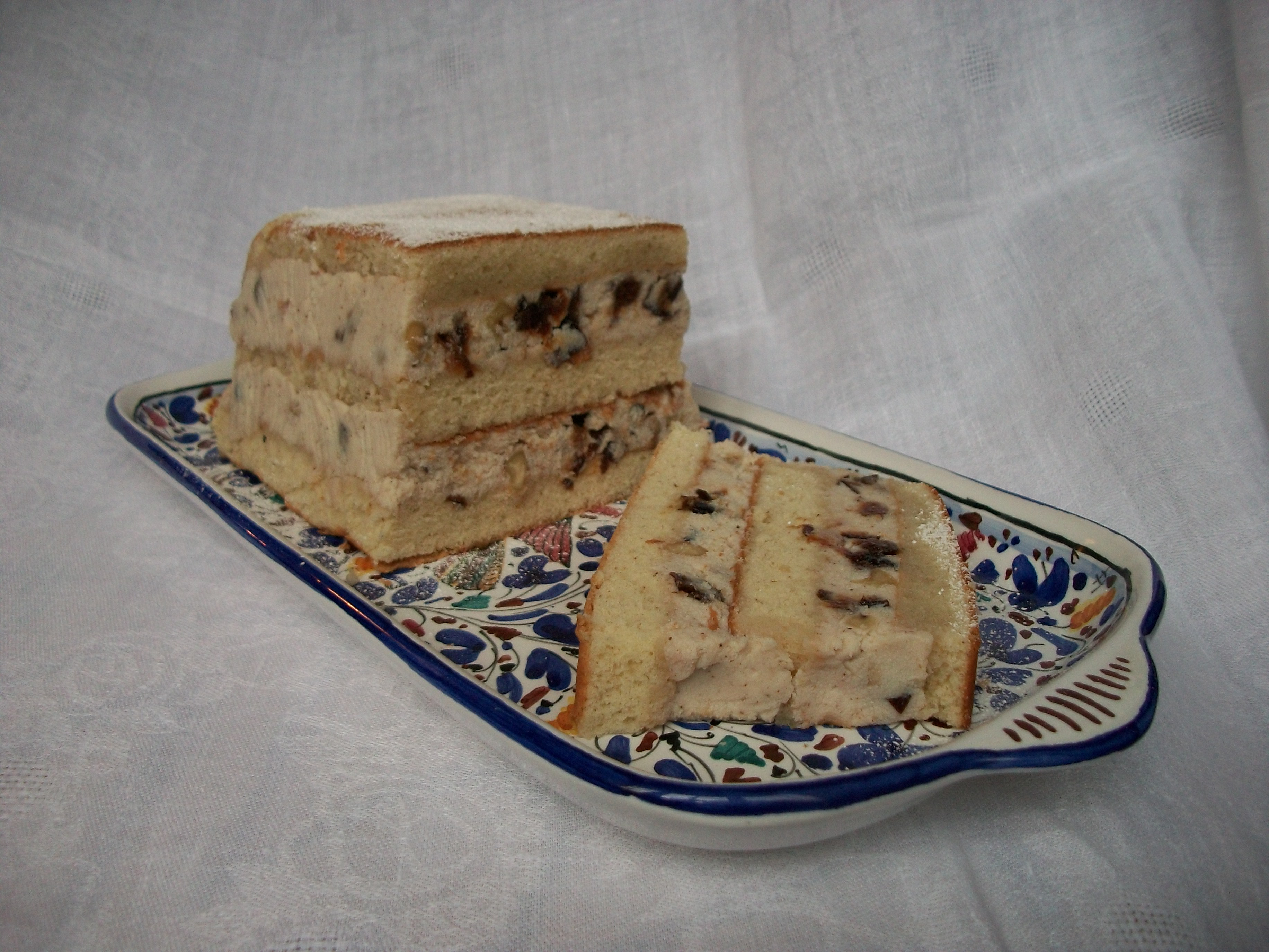 Cognac-y Clove-y Cassata