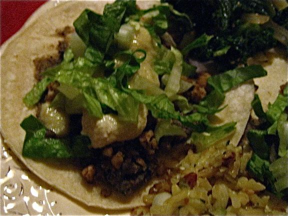"""Refried"""" Black Beans and Walnut Meat Tacos (Vegan) recipe on Food52 ..."""
